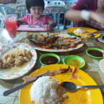 [Review] Seafood galore @ Pantai Bagan Lalang